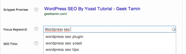 wordpress seo by yoast tutorial