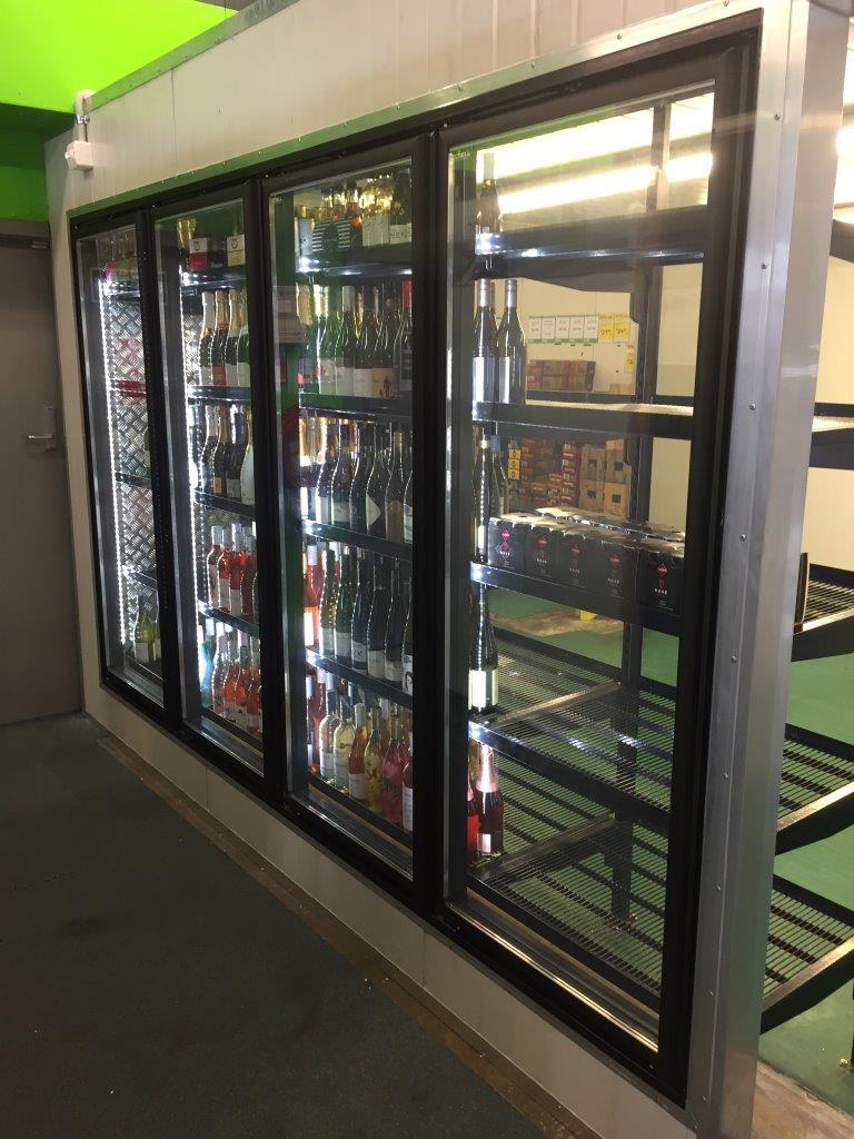 Cool Air beer fridge install